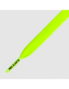 MR.LACY Flatties Neon Lime Yellow  130 cm