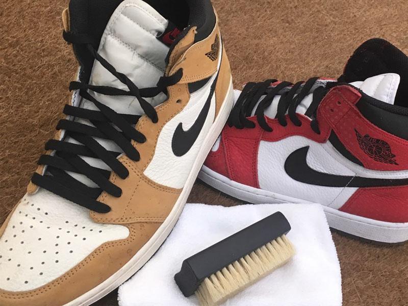 Nettoyage de chaussure